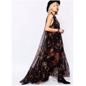 Free People Juno Floral Maxi Dress